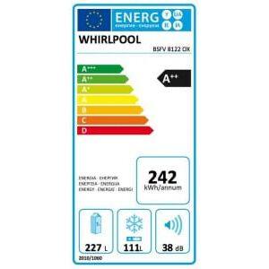 Whirlpool BSFV8122 OX